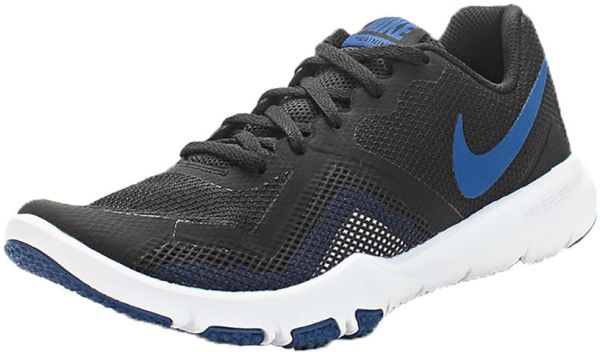 164a3b1b0637 Nike Flex Control LI Training Shoes For Women - Black Blue