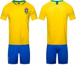 2018 world cup Football Jersey Brazil Team Football suits Short-sleeved T- shirt - M code 2d2a0ffa0