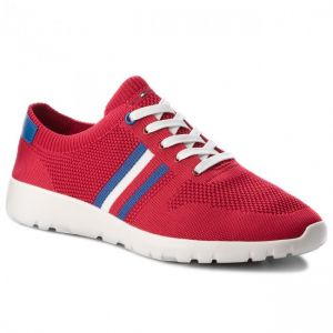 4532f8430cd11d Tommy Hilfiger Fashion Sneakers for Men - Red
