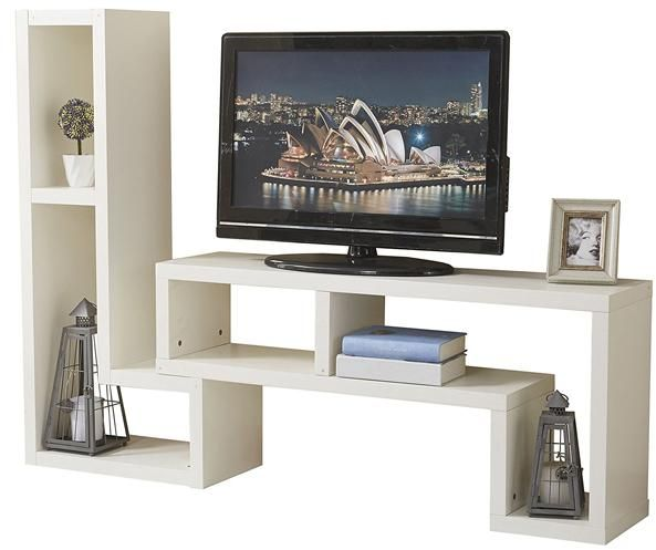 a to z furniture yakoe modern style tv cabinet in white color souq rh uae souq com furniture tv commercials furniture of tv unit