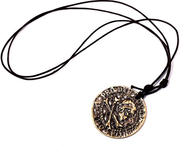 a35e6f9a70565 Game Uncharted 4 Drake Ancient Gold Coin Necklace Vintage Fashion Pendant  Necklace as a Gift