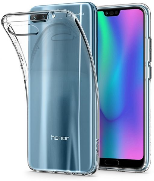 sports shoes e2b27 8b62e Spigen Huawei Honor 10 Liquid Crystal cover / case - Crystal Clear