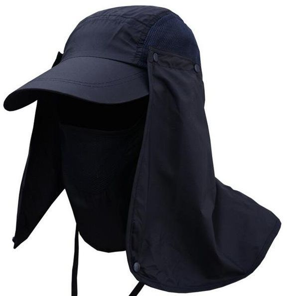 94846984769 Outdoor Sport Hiking Camping Visor Hat UV Protection Face Neck Cover  Fishing Sun Protcet Cap