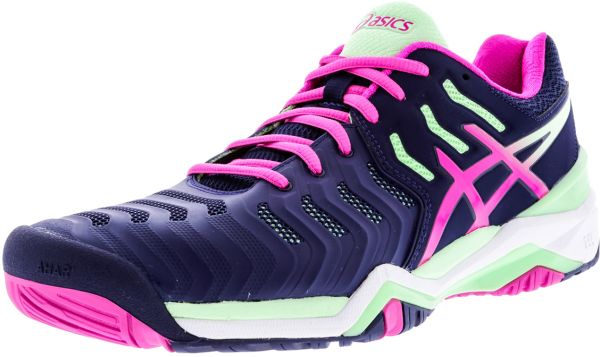 d62f0f1394c1 Asics Gel Resolution 7 Running Shoes for Women - Midnight Blue ...