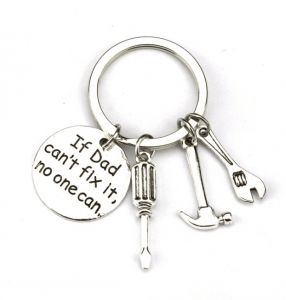 buy i i flask key chain true utility retage bro cactus uae 1955 Double Die Jefferson Nickel if dad can t fix it no one can screwdriver wrench hammer key chain ring tool charms keychain