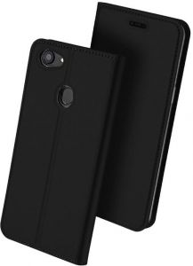 Oppo F7 DUX DUCIS Skin Pro Series Leather Case cover - Black