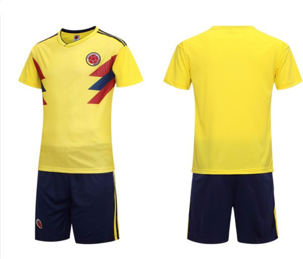 24230d88021 FIFA Russia World Cup 2018 Soccer Colombia Team Jersey short-sleeved T-shirt  L code