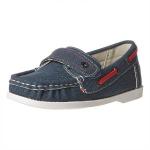 714e45a6f9c Shoexpress Moccasian Shoes for Kids - Navy