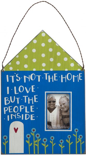 Primitives By Kathy Mini Frame Its Not The Home 925 By 675 Inch
