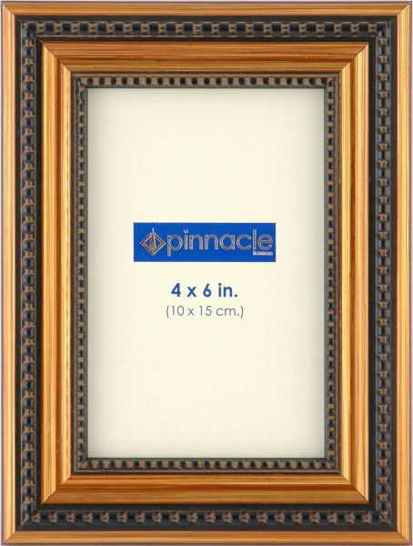 Souq | Pinnacle Frames Antique Bronze Frame with Beaded Edge 4x6 ...