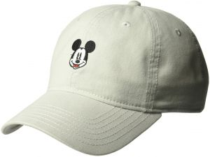 finest selection 1f5a1 23eae ... low price disney mens mickey mouse embroidered baseball cap 100 cotton  twill grey one size 44de5