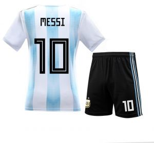 c474c79d8adad Argentina Team NO.10 Messi 2018 World Cup Football Jersey Football suits  Fans Short-sleeved T-shirt - M Size