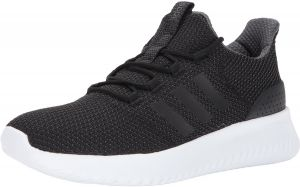 adidas Cloudfoam Ultimate Running Shoes for Men - Black   White 643e38227