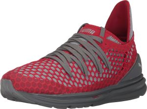 a9ecd24e3f8f Puma Ignite Limitless Netfit Training Shoes for Men - Grey   Red