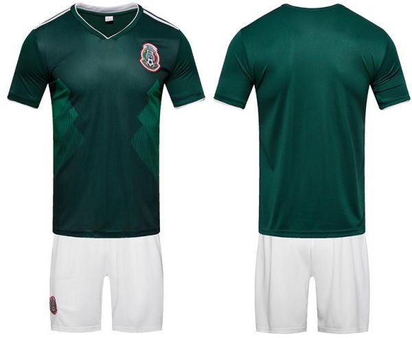2018 World Cup Football Jersey Mexico Team Football suits Short-sleeved T- shirt - S code  553f33e2c