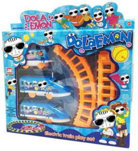 60bfc85d4f96 1 Pcs Toy Train for Kids - Battery Operated Railway Track Set and Car Party  for Boys and Girls