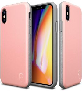 COVER IPHONE X CASE - LEVEL ITG by patchworks -pink