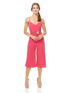 f2d8c372a87 Mela London Straight Jumpsuit for Women - Pink