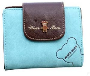 Women Short Wallet For Coin Card Cash Lady Small Purse Fashion bf4aed416e6b4