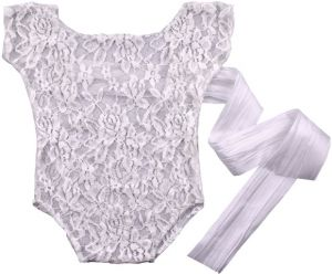 ce66adf20c Newborn Baby romper Overall Pixie Lace baby Photography Props Princess Girl  boy BebeBaby Photography Props Baby Clothes Romper mm