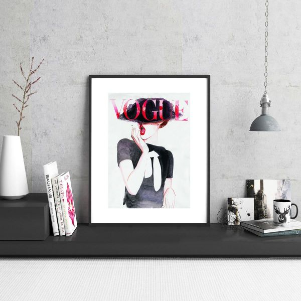 Vogue - IKEA, Fashion, Magazine, Wall frame, wall art, frames, print ...