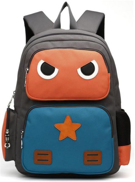 9e1a853464df LANSERM Robot Kid s Backpack School Bag Cartoon Book Bags For Children