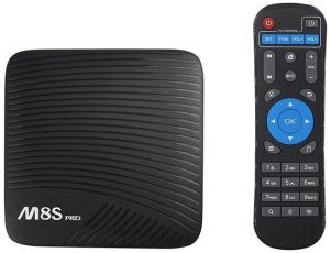 M8S PRO L Android 7.1 TV Box ROM 32GB, RAM 3GB S912 Octa Core Bluetooth 4.0 Dual 2.4G/5G Wifi 4K