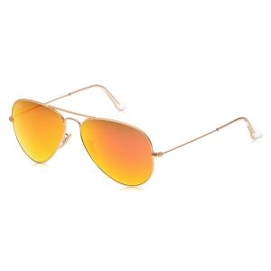 122c907f483 Ray-Ban Aviator Unisex Sunglasses - Orange