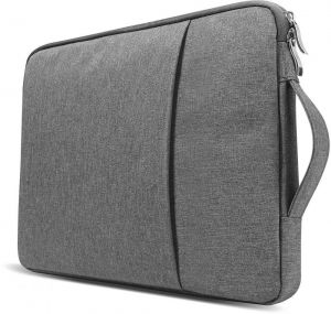 724dde28d776 13 - 13.3 inch Water Repellent Laptop Sleeve with Handle and Pocket for  Macbook Air Pro Retina   other Laptop Notebook (Dell HP ASUS Lenovo Acer) -  Grey ...