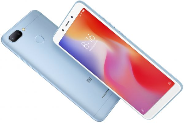 Xiaomi Redmi 6 Dual SIM - 64GB, 4GB RAM, 4G LTE, Blue - International Version