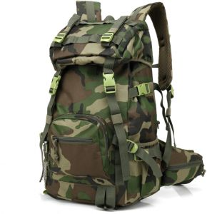 COLOR Multifunctional outdoor large capacity double backpack male outdoor  travel double casual backpack camouflage mountaineering bag dc7065c60cead