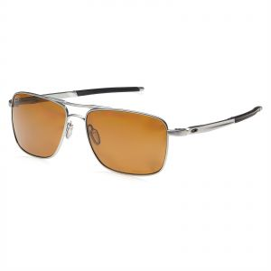 88e4b9b4a2 Oakley Unisex Aviator Sunglass - Brown