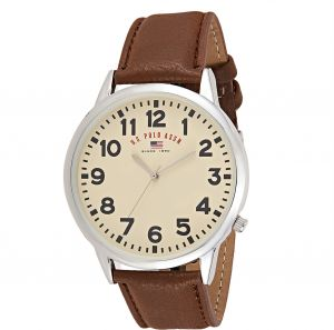 3bc0f846ce1 U.S. Polo Assn. Men s Beige Dial Band Watch - US5281