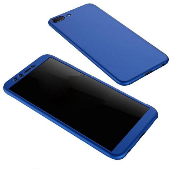 brand new 253c7 5c64c Huawei Honor 7S / Y5 Prime 2018 Case 360 Degree Silicon Front And Back  Without Screen - Blue