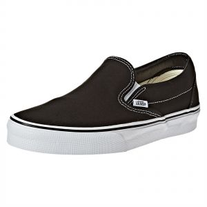 b17164d4008 Vans Black Slip On For UNISEX