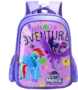55c0f2b7e45 Cartoon lovely School Bags For Boys Girls Waterproof Backpacks Child pony  Book bag Kids Shoulder Bag Satchel Knapsack qy