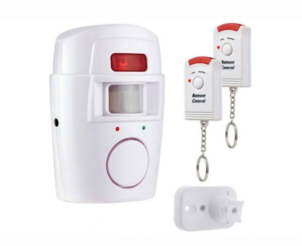 With 2 Remote Controller Wireless Home Security PIR MP Alert Infrared Sensor Anti-theft Motion Detector Alarm System