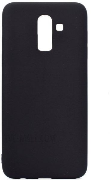 new style 786bc 4a610 Samsung Galaxy J8 2018 TPU Silicone Soft Thin Back Case Cover - Black By  Muzz