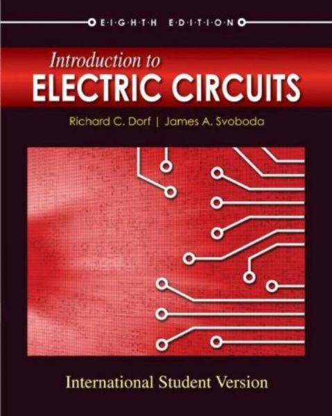 introduction to electric circuits paperback international edition