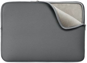 Apower Laptop Sleeve Soft Lining Case Padded Cover Bag for 15-15.4 Inch MacBook Pro Notebook Chromebook Ultrabook-Grey