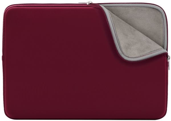 A Laptop Sleeve Soft Lining Case Padded Cover Bag For 14 Inch Notebook Chromebook Ultrabook Red