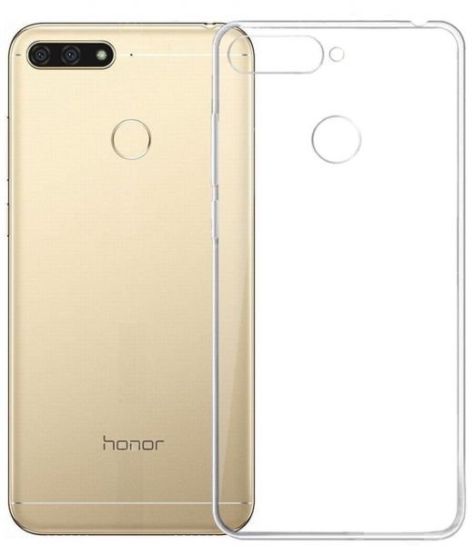 purchase cheap d2df2 087a8 Back TRANSPARENT COVER FOR HUAWEI HONOR 7A