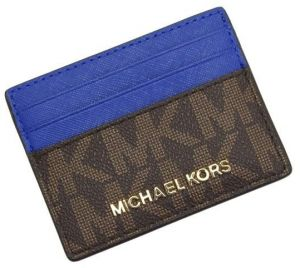 3aa47ae213f5 Sale on michael kors jet set pvc checkbook wallet - brown cwk hp ...