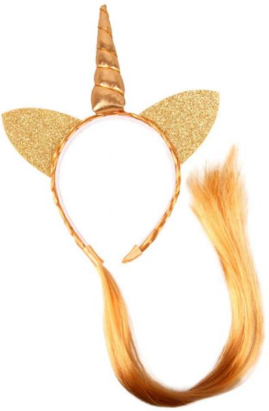 Kids Cute Cat Ears Unicorn Headband Hair Hoop with Braided Wigs for Party  Hair Accessories  7a81ade1a79