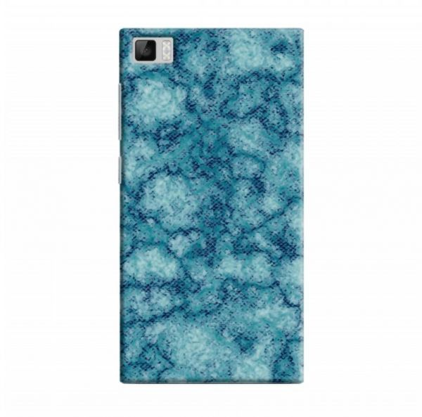 Cover It Up Blue Patch Granite Xiaomi Mi3 Hard Case Souq Uae