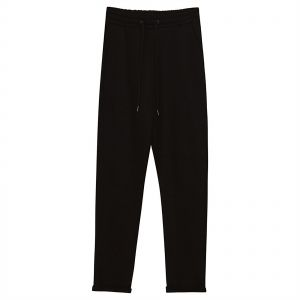 ca6a3cca4bcd1 Pull and Bear Slim Fit Fashion Joggers for Women - Black