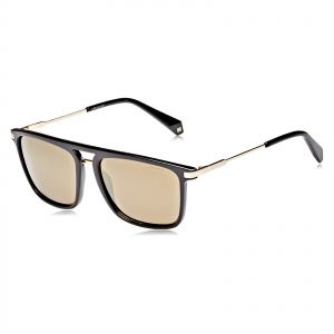 f951d6cffdb2 Polaroid Rectangle Sunglasses for Men - Brown Lense