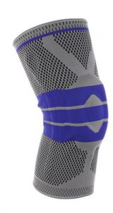 Knee Brace Support Protector, Kneepad Silica Gel Anti-Collision Anti-Slip, Elastic Breathable Compression Knee Sleeve for Sports Arthritis Relief Rnning ...