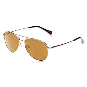 045f40a241 Ted Baker Unisex Aviator Sunglasses - Brown