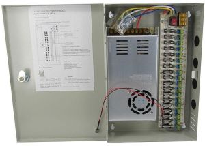 18 Channels 12V DC Regulated Distributed Power Supply